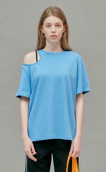 18 SUMMER LOCLE LC SHOULDER HOLE T - BLUE